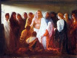 When we gather in His name, the living, resurrected Jesus is actually present with us.