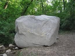 rock on platform