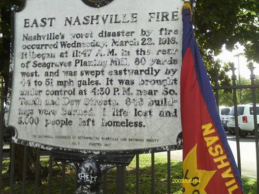 East Nashville fire