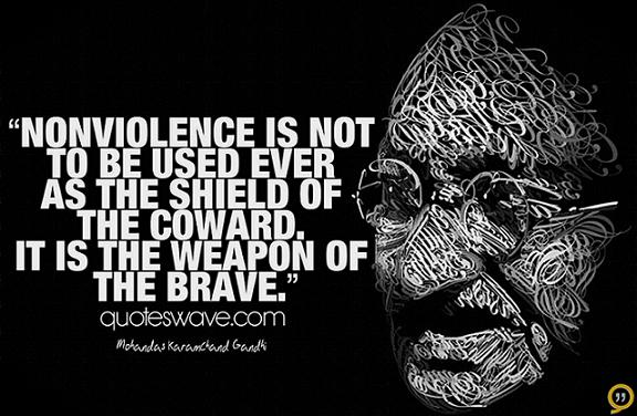 non violence and will power To adopt principled nonviolence is not a quick and easy decision one can   what differentiates a principled nonviolence campaign from a power struggle is  the.