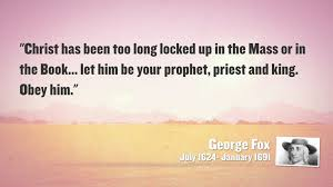 George Fox quote
