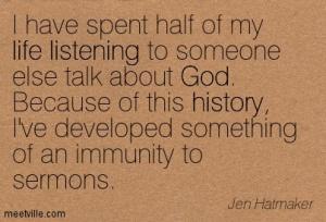 sermon quote H