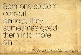 sermon quote I