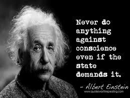 conscience einstein