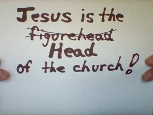 Jesus Head not figurehead