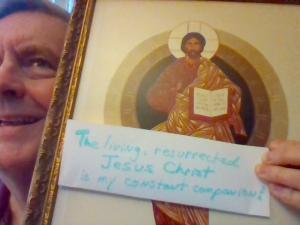 living Jesus & me