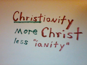 more Christ