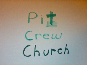 pit crew church