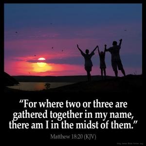 God gathering