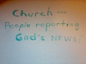 God's news