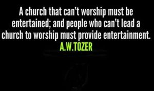 church Tozer quote