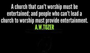 church Tozer quote
