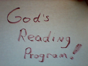 God's reading program