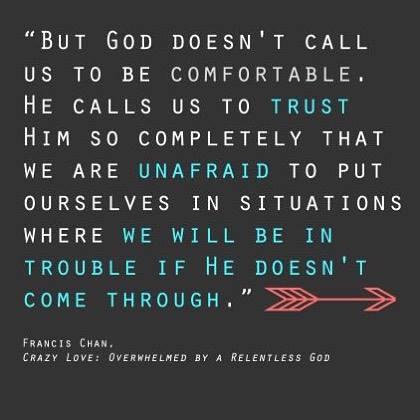 where God comes through