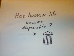 disposable human life
