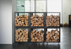firewood stored