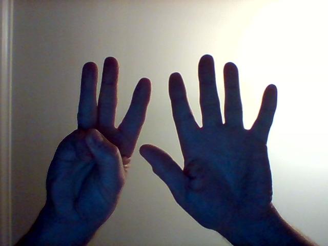 eight fingers