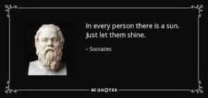 let them shine socrates