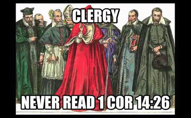 clergy don't read