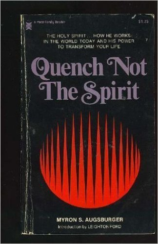 Quench not the Spirit book