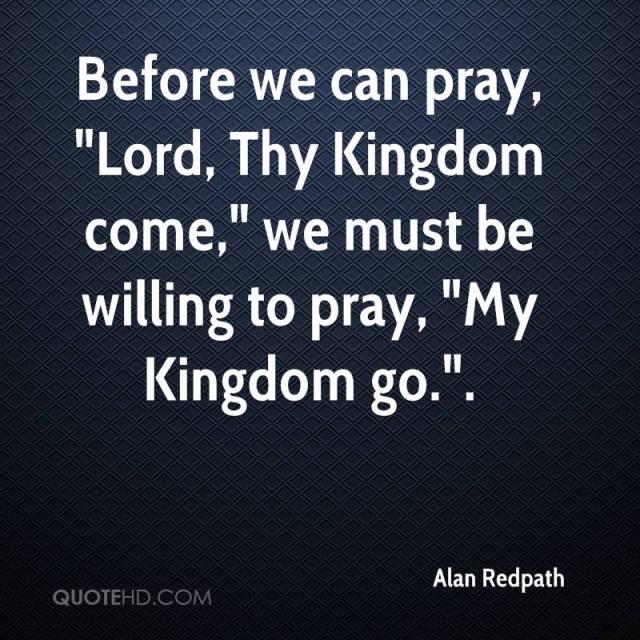 kingdom come quote