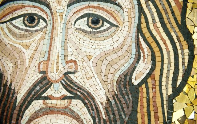 mosaic Jesus