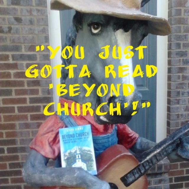 beyond church balaam's donkey