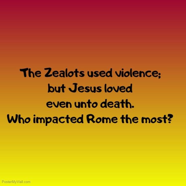 nonviolence Zealots