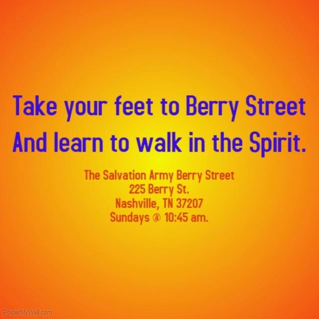 Berry Street Feet poster