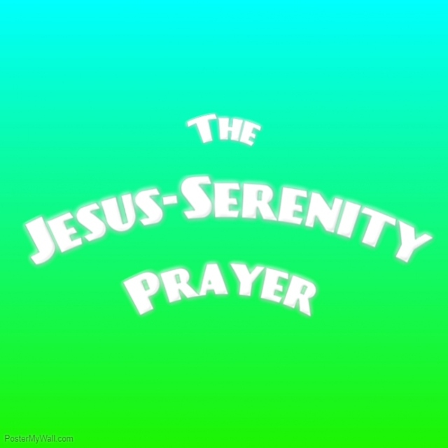 Serrenity prayer