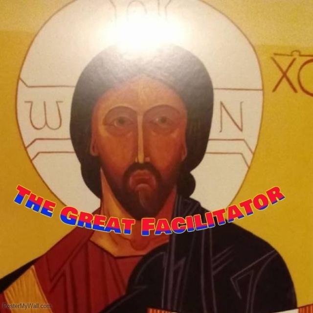 Jesus aglow