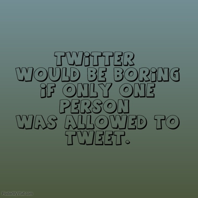 Twitter's not boring