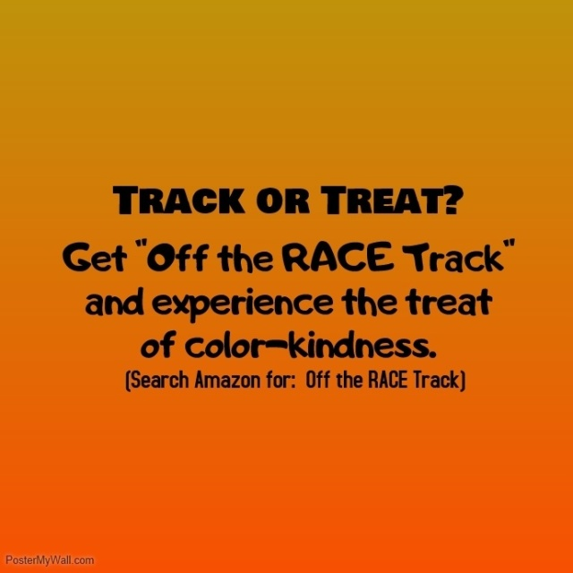 Off the race track -- track or treat