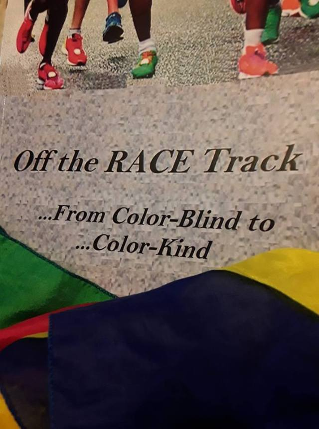 off the race track color cloth